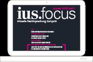 Zeitschrift ius.focus