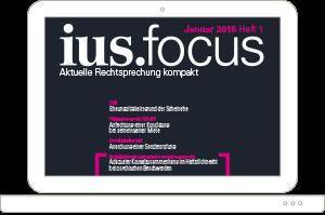 Zeitschrift ius.focus online